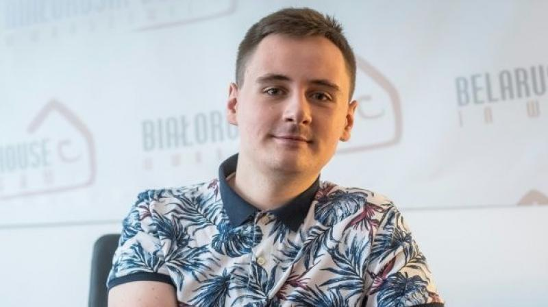 Stepan Svetlov is the founder of NEXTA, a Telegram channel with 2.1 million subscribers that helps mobilise protesters and shares photo and video content from the demonstrations. (AFP)