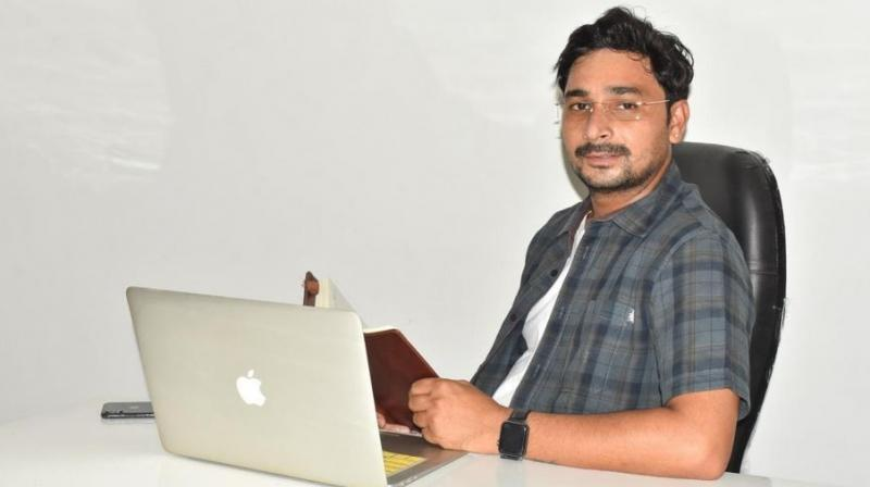 Rudra Ravi Sharma, founder of Webtale Media