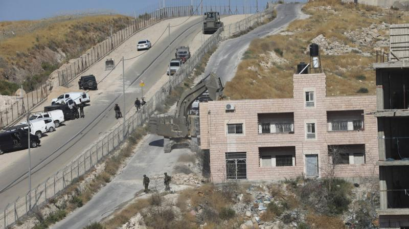 They also point out that most of the buildings are located in areas meant to be under Palestinian Authority civilian control under the agreements between the Palestinian and Israeli governments. (Photo: AFP)