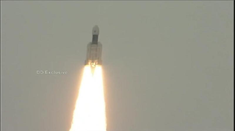 India's Chandrayaan-2 continued its voyage to the Moon with the spacecraft's orbit around the Earth being raised on Friday for the fourth time since its launch last month and all its parameters are normal, space agency ISRO said. (Photo: File)