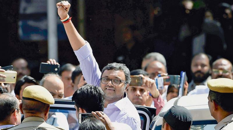 Karti had moved the Delhi High Court on March 8 following directions from the Supreme Court. (Photo: PTI/File)