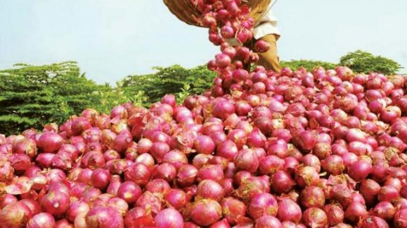The government was forced to import onion in a bid to contain prices, which have cooled down now to around Rs 58-60/kg from the peak of over Rs 160/kg in the last few months.