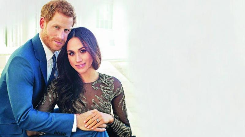 Talking point:  Half-white from her father Tom Markle's side and  half-black from her mother Doria Radland's side, Meghan's ancestry became the talk of several circles in London.