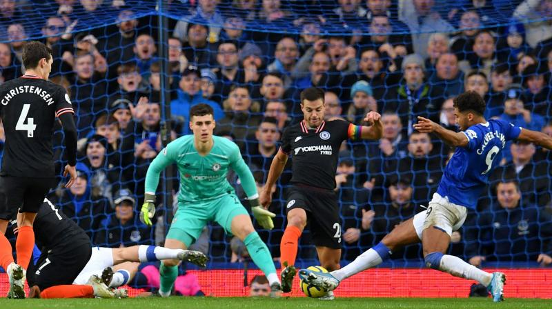 After facing a defeat against Everton, Chelsea's Cesar Azpilicueta said they should have done much better in a game like this. (Photo:AFP)