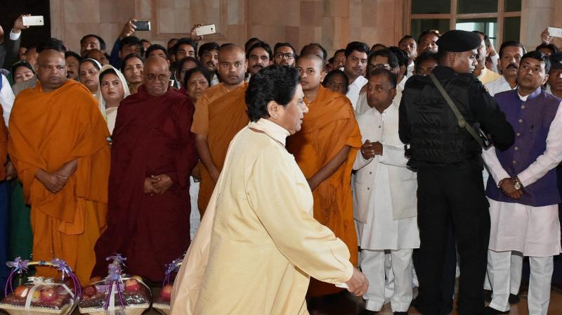 Bahujan Samaj Party president Mayawati. (Photo: PTI)