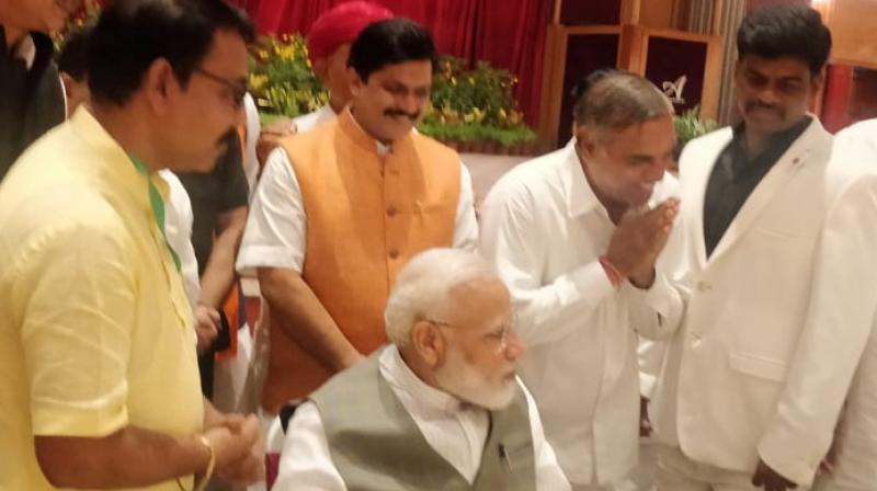 BJP then pitched Yadav against Jyotiraditya Scindia from the Guna for Lok Sabha elections. (Photo: Twitter)