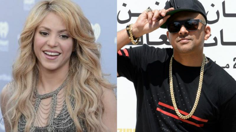 It would be the first time that Sean Paul will be collaborating with Shakira. (Photos: AFP)