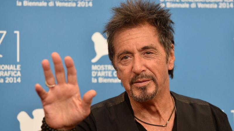 Al Pacino will be seen in 'Hangman' later this year. (Photo: AFP)