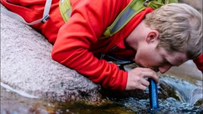 LifeStraw technology gets rid of viruses, parasites, bacteria and metals such as lead and chromium to make contaminated water drinkable. (Photo | LifeStraw)