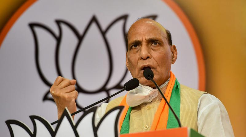 Rajnath Singh (PTI photo)