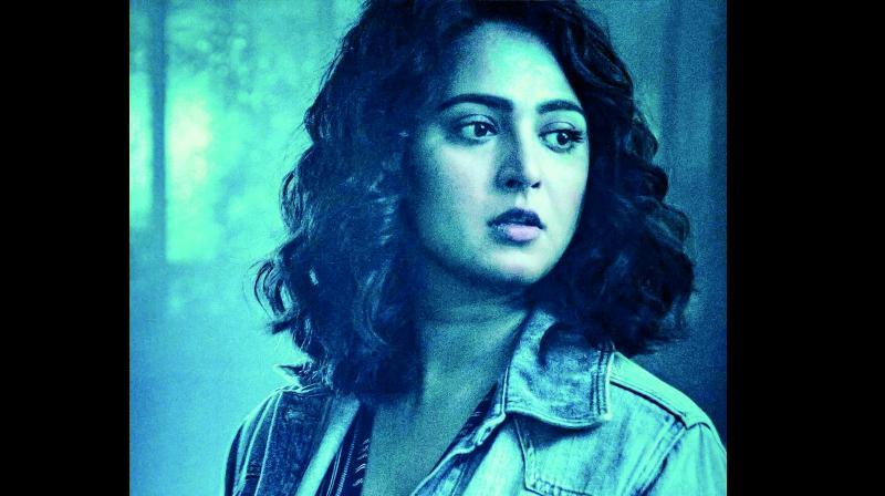 Anushka Shetty looks lean in her upcoming film Nishabdam
