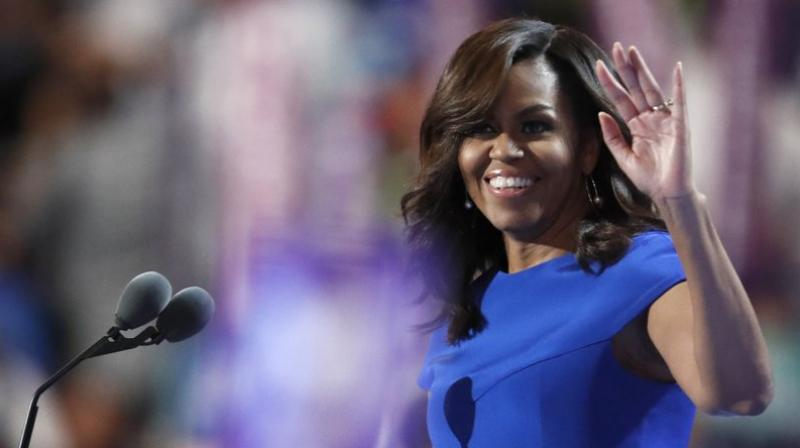 The 54-year-old former first lady shared on her Instagram account four previously unpublished family photographs that illustrate moments in her personal journey of becoming the woman she is today. (Photo: AP)