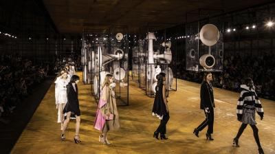 Burberry's creative director Tisci created a new line for their Speing/Summer 2020 collection. (Photo: AP)