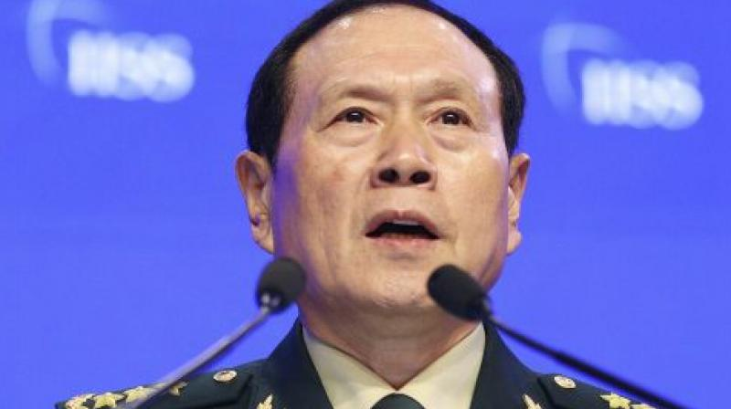 Chinese Defence Minister Wei Fenghe. (AP)