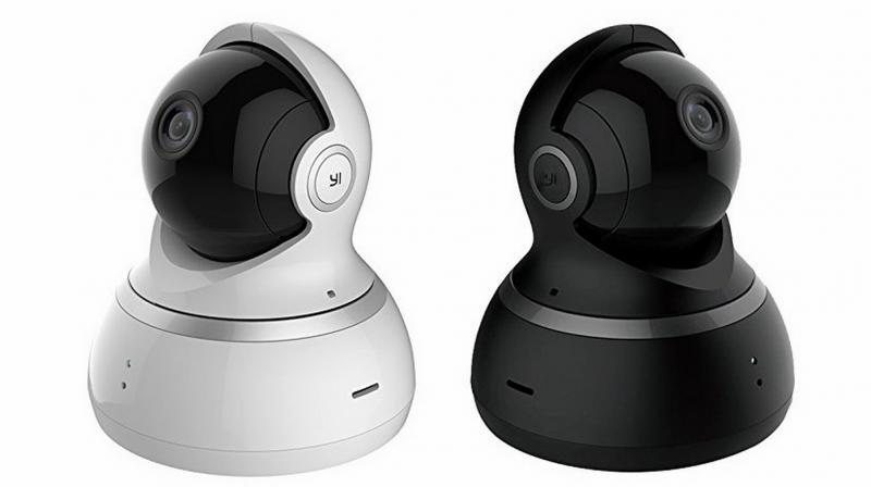 Aimed for home use, the YI Dome Camera 1080p is a simple dome camera that looks like a miniature robot.
