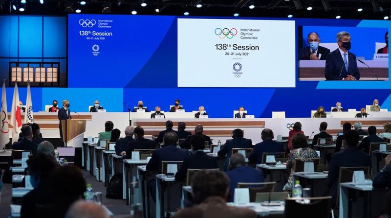 The IOC members took the decision at the 138th session in Tokyo on Wednesday. (Photo: olympics.com/ioc)