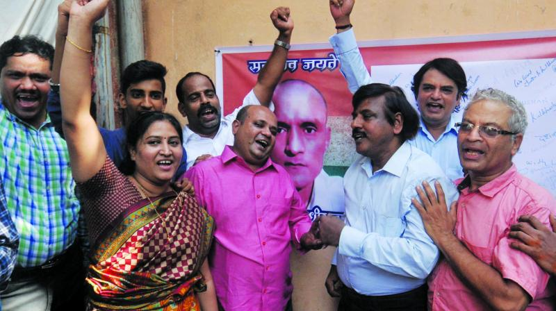 Friends of Kulbhushan Jadhav, who grew up in Parel, express relief after his reprieve. (Photo: Debasish Dey)