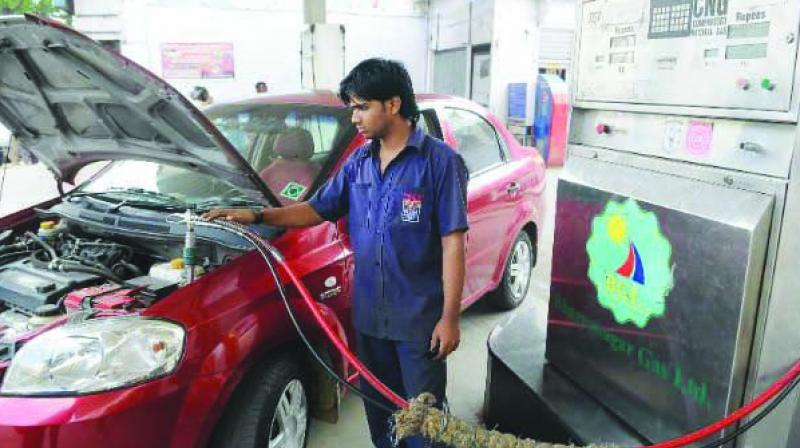 A petrol pump attendant