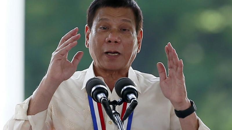 Duterte has a history of making controversial and contradictory remarks about the LGBT community. (Photo:AP)