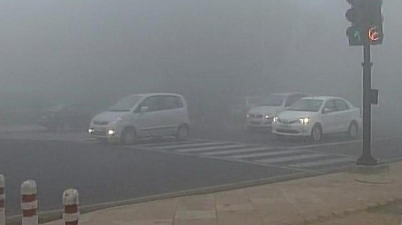 The visibility was recorded at 800 mt in the morning at Safdarjung observatory while Palam recorded 500 mt. (Photo: Representational Image)