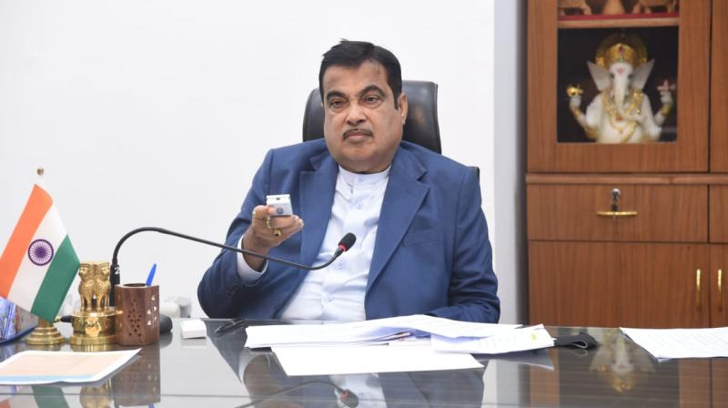 The minister said that there has been a phenomenal growth of 55.71 percent national highway length in the last six years in the state (Photo credit:Twitter)