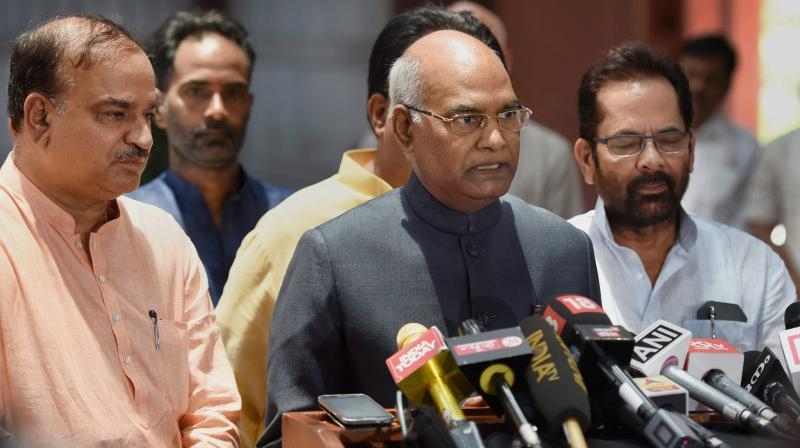NDA candidate Ram Nath Kovind (Photo: AP)