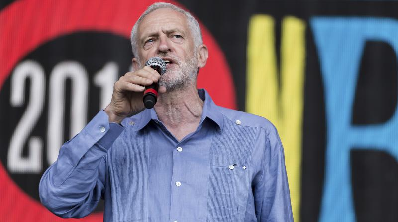 Britain's opposition Labour Party leader Jeremy Corbyn said he would not lead the party into the next election after admitting it had been a