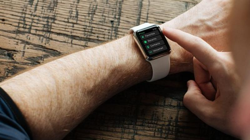 Wearable gadgets gave a Stanford University professor an early warning that he was getting sick. (Representational image)