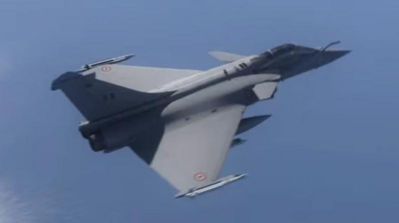 Dassault Rafale fighter aircraft (Photo: Youtube screengrab)