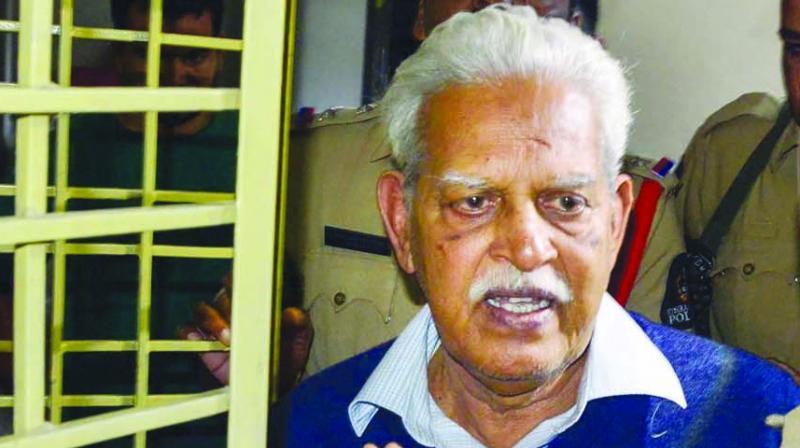 File image of Varavara Rao.