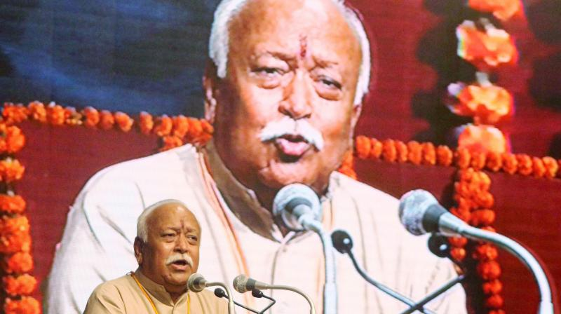 RSS Chief Mohan Bhagwat. (Photo: PTI)