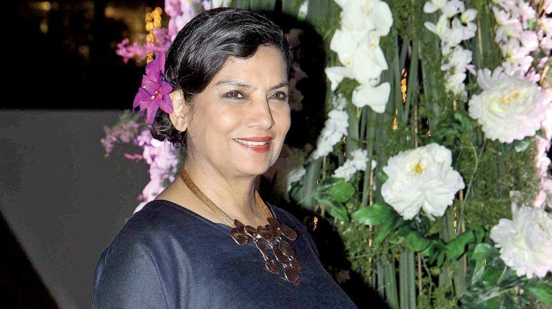 Shabana Azmi.