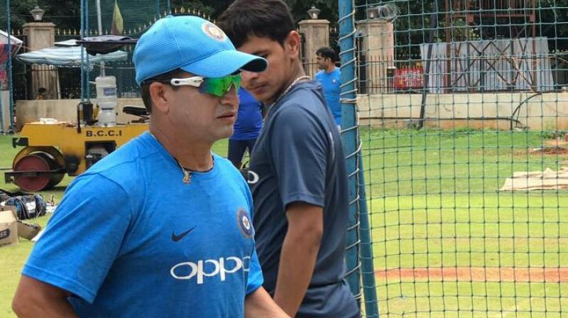 India Under-19 fielding coach Abhay Sharma credited Indian colts for improving their fielding as the tournament went on. (Photo: Twitter / Abhay Sharma)