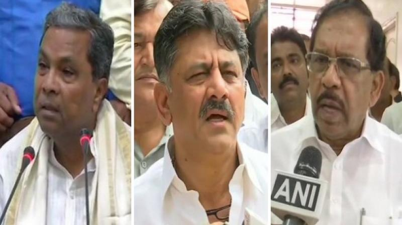 Most of the leaders of the party want Siddaramaiah as the Leader of Opposition as he is strong and hails knowledge of finance and other issues of the state, a party leader said. (Photo: ANI)