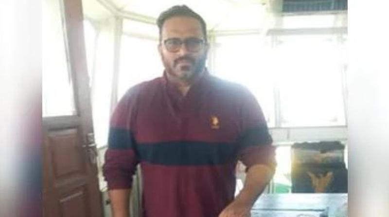 Ahmed Adeeb was brought to Male, the Maldives' capital, late on Sunday night in a navy ship. Early this morning, he was taken to Dhoonidhoo detention center. (Photo: File)