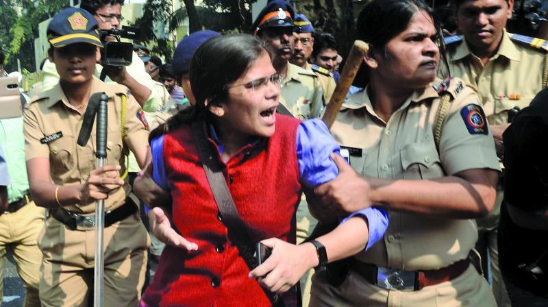 Student leader Richa Singh