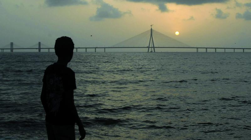 File picture of Bandra-Worli Sea Link.