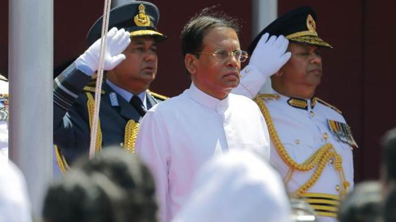 Sirisena dissolved Parliament on November 9 and announced snap polls on January 5 next year after it became evident that he did not have enough support in the House. (Photo: File)
