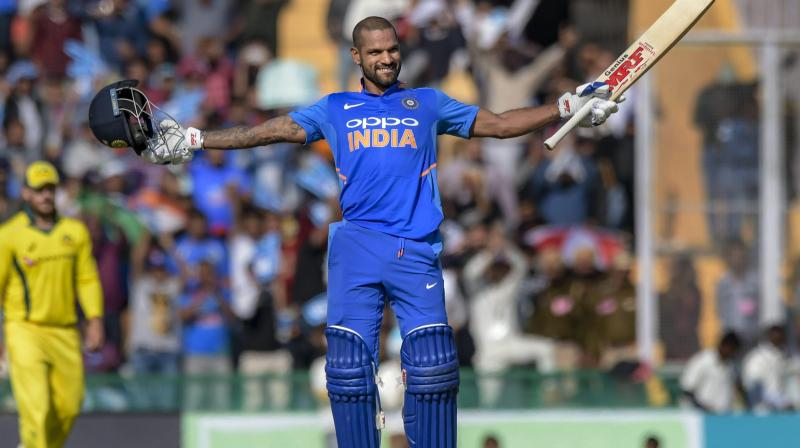 Plagued by injuries in 2019, opener Shikhar Dhawan is aiming for a fresh start in the new year and wants to become a 'more impactful' batsman in his quest to help India lift the ICC T20 World Cup in Australia. (Photo:PTI)