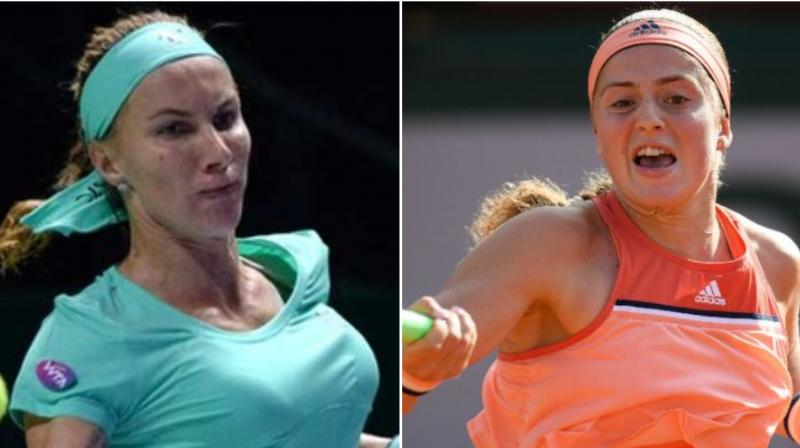 Former Grand Slam champions Svetlana Kuznetsova and Jelena Ostapenko have pulled out of this week's Auckland Classic, organisers confirmed on Monday. (Photo:AFP)
