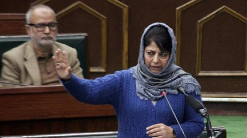 Jammu and Kashmir Chief Minister Mehbooba Mufti. (Photo: PTI)