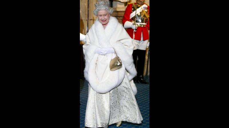The decision pleased animal rights activists, who have sometimes criticised the monarch for the fur pieces in her collection of designer clothes. (Photo: AP)