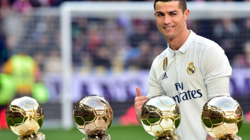 Juventus defender Giorgio Chiellini has accused Real Madrid of blocking Cristiano Ronaldo's Ballon d'Or last year. (Photo:AFP)