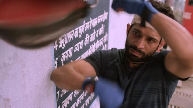 Vineet Singh plays the lead character in 'Mukkabaaz.'