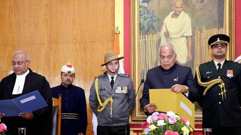 File photo of Meghalaya governor Banwarilal Purohit (Photo: PTI)