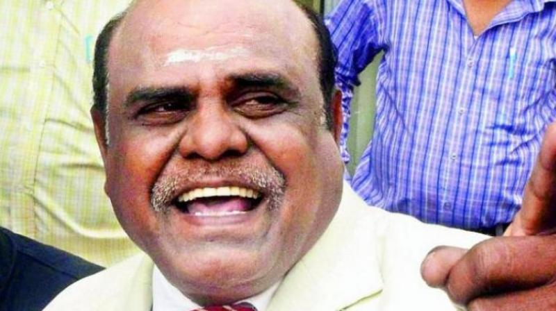 Karnan counsel was rebuked over the stream of pleas of 'urgent hearings' seeking quashing of the apex court order. (Photo: File)