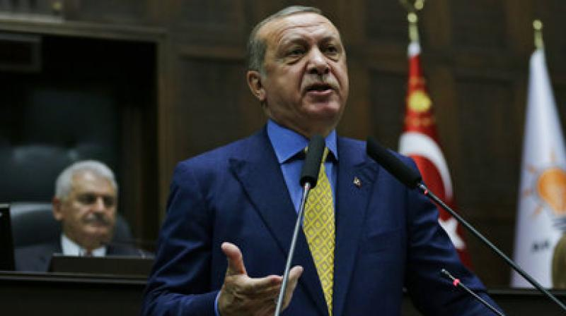 In an intense programme aiming to hammer home the anniversary's importance, Erdogan attended a special session of parliament in Ankara. (Photo: File)
