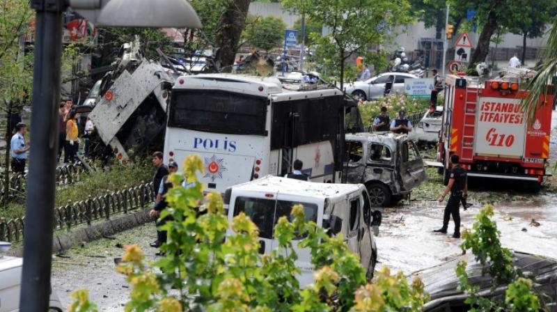 The assailants then drove their stolen car toward a military police station and detonated a car bomb at a nearby roadblock. (Photo: Representational/AP)