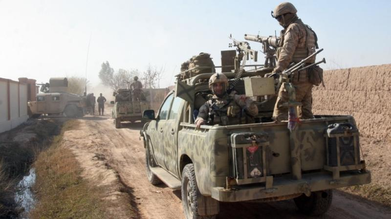 In March, an Afghan soldier was killed after he opened fire on foreign forces at a base in Helmand province, wounding three US soldiers.(Representational/AP)