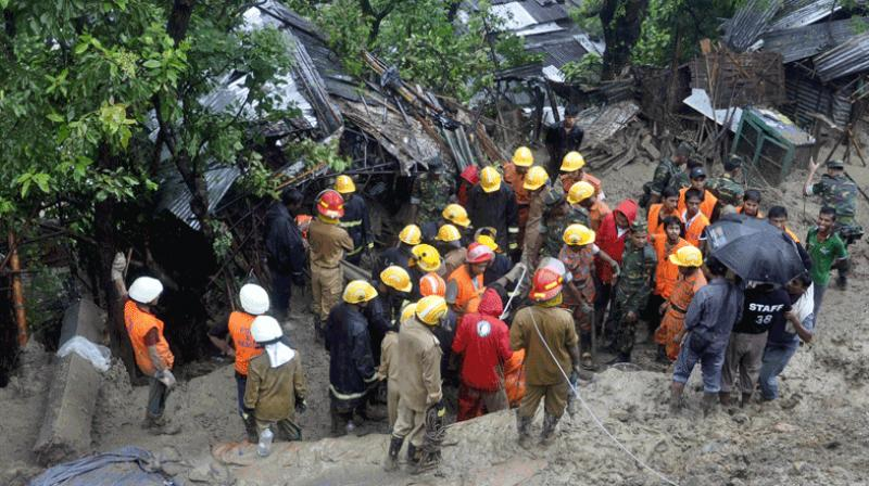 The landslides occurred in the wee hours in Khagrachhari and Moulvibazar districts in Dhaka-Bangladesh. (Photo: Representational/AFP)